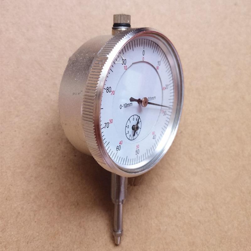Precision 0 01mm Dial Indicator Gauge 0 10mm Meter Precise 0 01mm Resolution Indicator Gauge Mesure Instrument Tool Dial Gauge