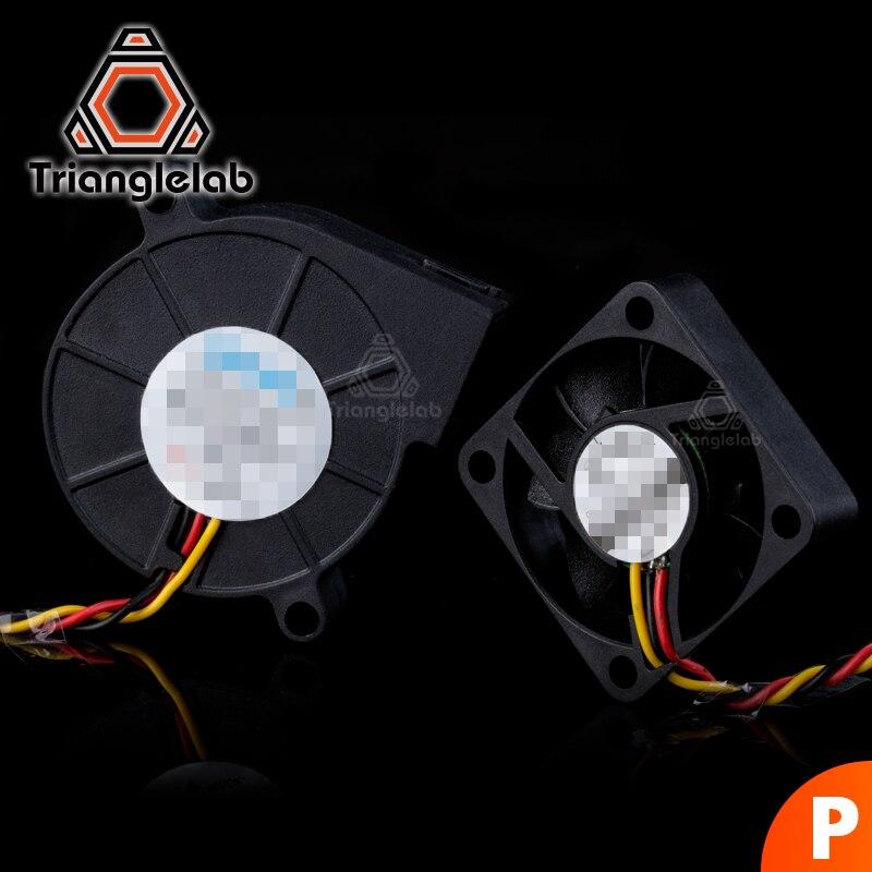 TriangleLAB 3 fios DC conjuntos de fãs para Prusa i3 MK3 MK3S MK2/2.5 impressora 3D