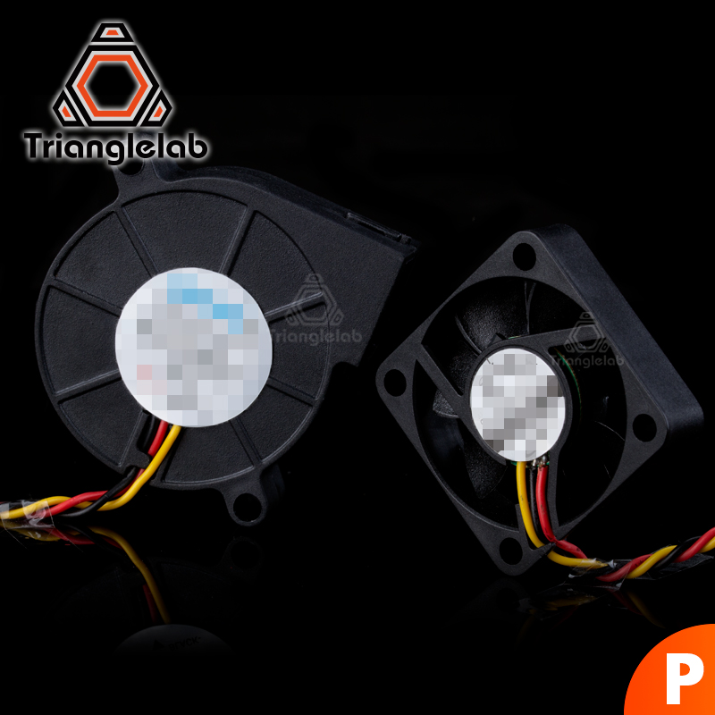 TriangleLAB 3 Wires DC Fans Sets For Prusa I3 MK3 MK3S MK2/2.5 3D Printer