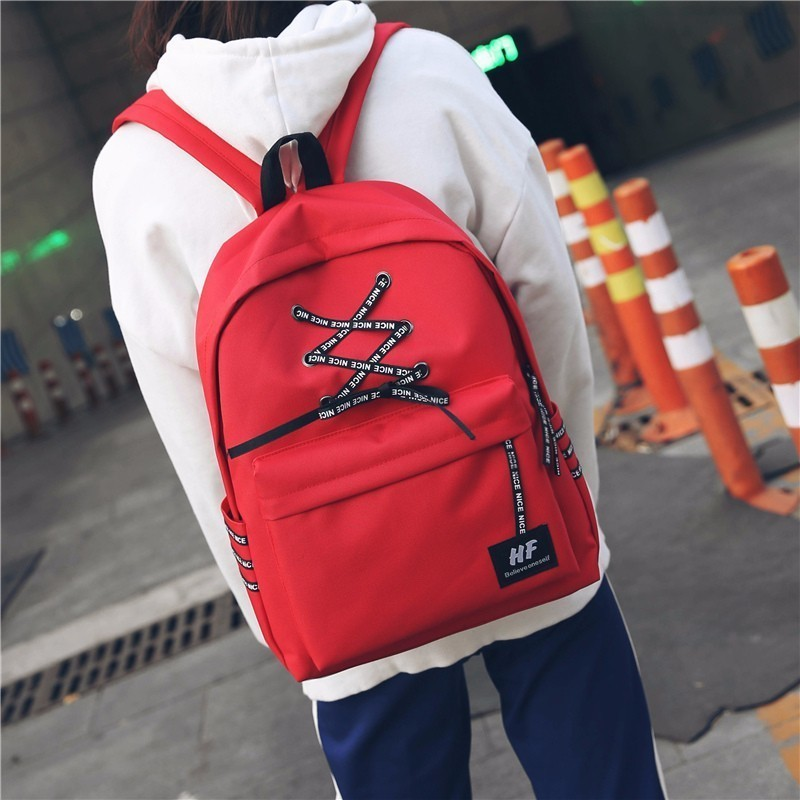 Mochila Feminina Canvas Both Shoulders Bags Woman Backpack Bags Campus School Student Bagpack Fashion Backpack Schoolbags in Backpacks from Luggage Bags