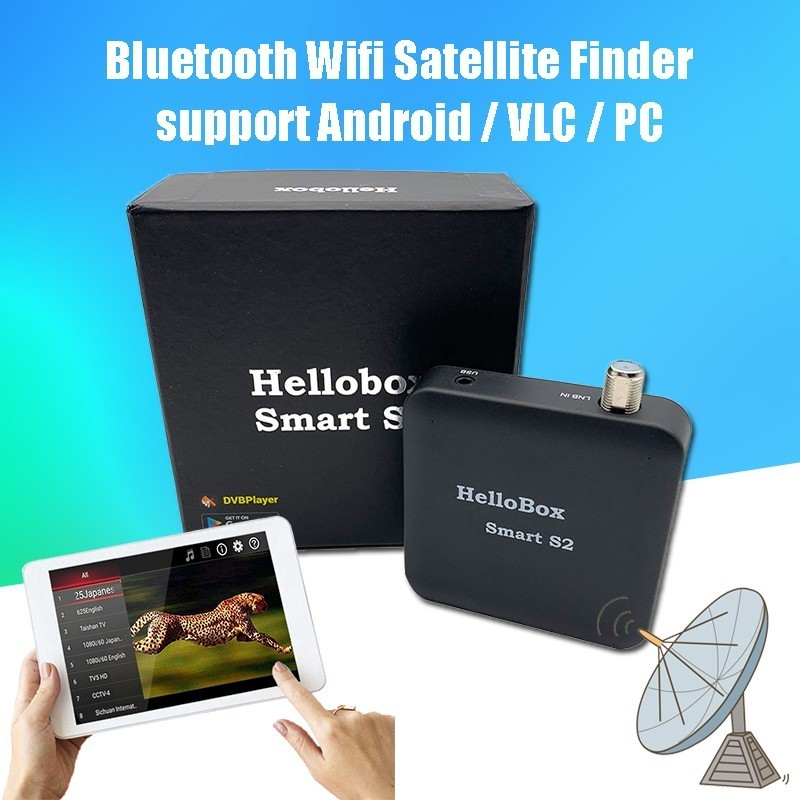 Satxtrem Hellobox Smart S2 Dvbfinder Satellite Finder DVB-S2 ТВ-приемник  плеер на