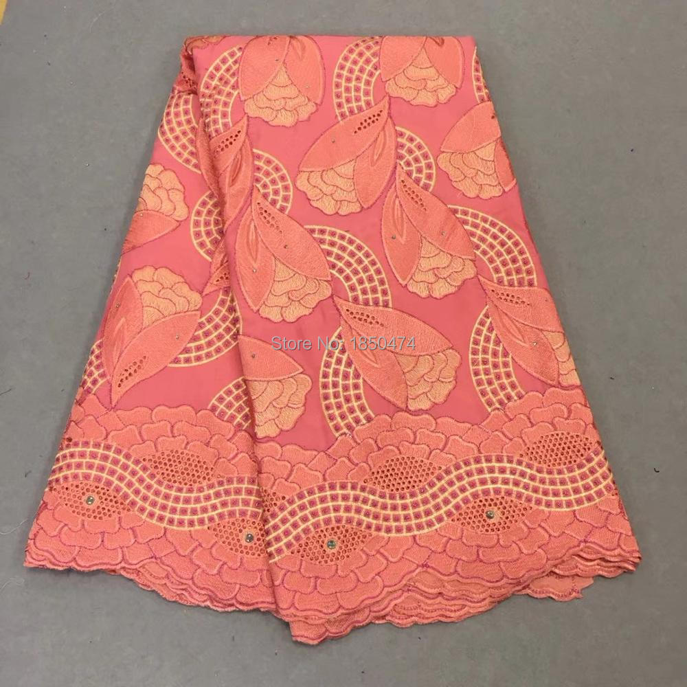 New Fashion Swiss Lace Fabric 2019 Swiss Voile Lace In Switzerland Cheap High Quality African Dry