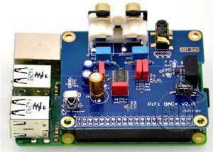 Image 4 - Dykb PCM5122 Raspberry Pi B + 2/3B Hifi Dac + Geluidskaart Digitale Audio Module I2S Interface Speciale volumio Muziek Pir 2B 3
