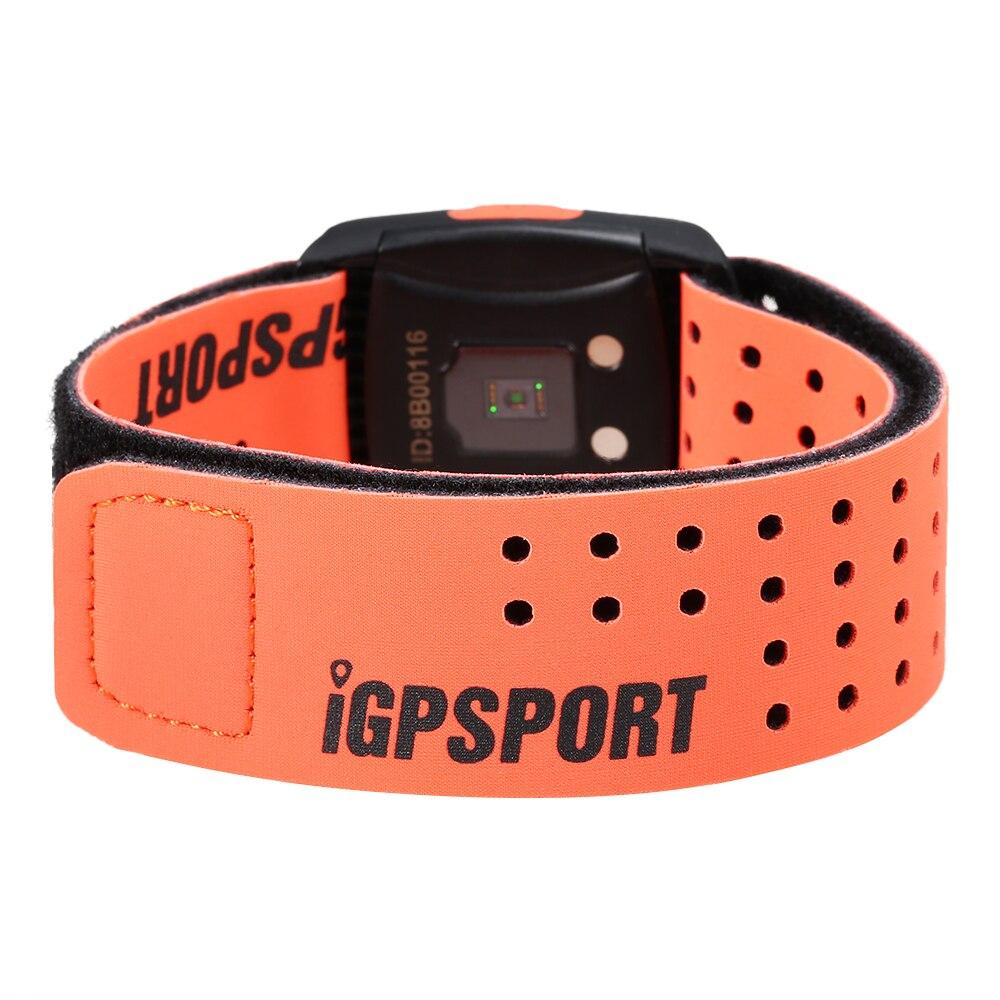 Bracelet de sport capteur sensible à la fréquence cardiaque bras sangle coeur Rater moniteur intelligent en cours d'exécution sport Fitness Tracker bande de fréquence cardiaque - 2