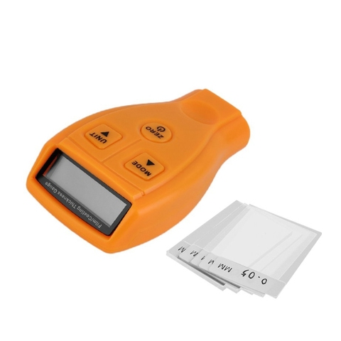 LCD Measuring 0-1.80mm/0-71.0 mil Digital Automotive Coating Thickness Gauge Pakistan