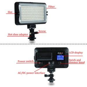 Image 4 - Viltrox VL 162T Camera LED Video Stideo Ánh Sáng 3300K 5600K Bi Màu Mờ Cho Canon Nikon Sony máy Ảnh DSLR Chụp Ảnh Quay Phim