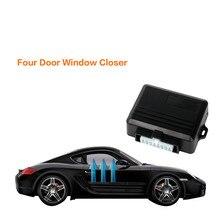 Автомобильные системы сигнализации, универсальные автомобильные электрические окна, свернутые ближе для 4 дверей, автоматическое закрывание окон, модуль автомобильной сигнализации, защита автомобиля