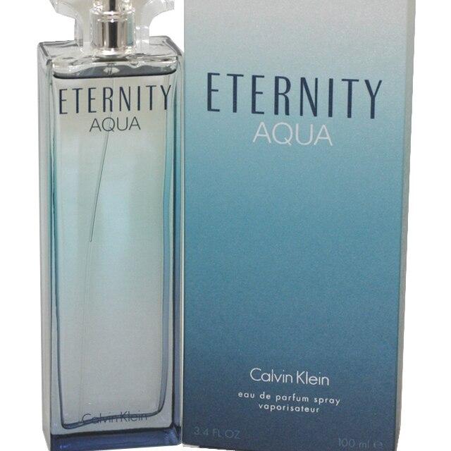 Eternity Aqua By Calvin Klein For Women Eau De Parfum Spray 34 Oz