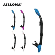 AILLOMA Outdoor Sports Swimming Prepositive Full Dry Breathing Tube Diving Equipment Adults Underwater Masks Snorkels Swim Tube
