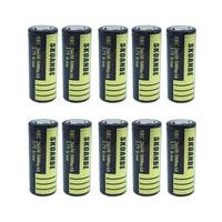 8/10/12PCS New Battery For Panasonic 26650A 3.7V 5000mAh High Capacity 26650 Li ion Rechargeable Batteries