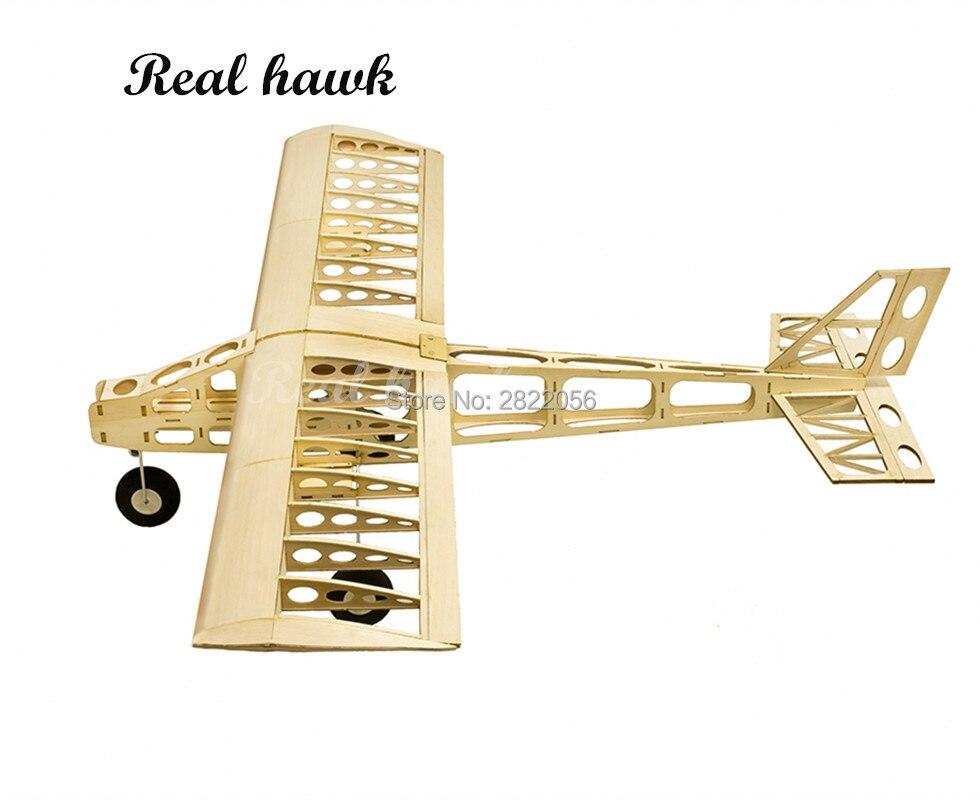 RC aviones corte láser Balsa Kit de avión de madera nube Dancer marco sin cubierta modelo Kit de construcción - 2
