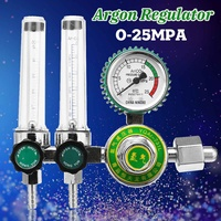 0 25Mpa Argon CO2 Mig Tig Flow Meter Gas Regulator Flowmeter Pressure Reducing Valve Argon Arc Welding Machine