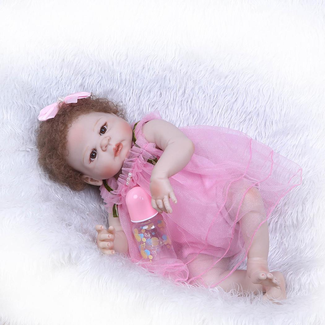 55cm/21.7inch soft Reborn baby doll Reborn baby realiste Birthday Xmas Gift New Arrival55cm/21.7inch soft Reborn baby doll Reborn baby realiste Birthday Xmas Gift New Arrival