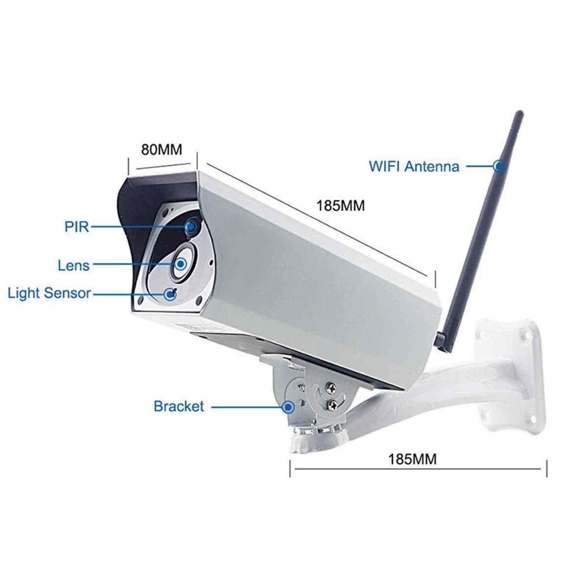 1080 720P の HD 無線 LAN ワイヤレスカメラホームセキュリティ監視防水屋外ソーラーカメラ赤外線ナイトビジョンオーディオカメラスピーカー