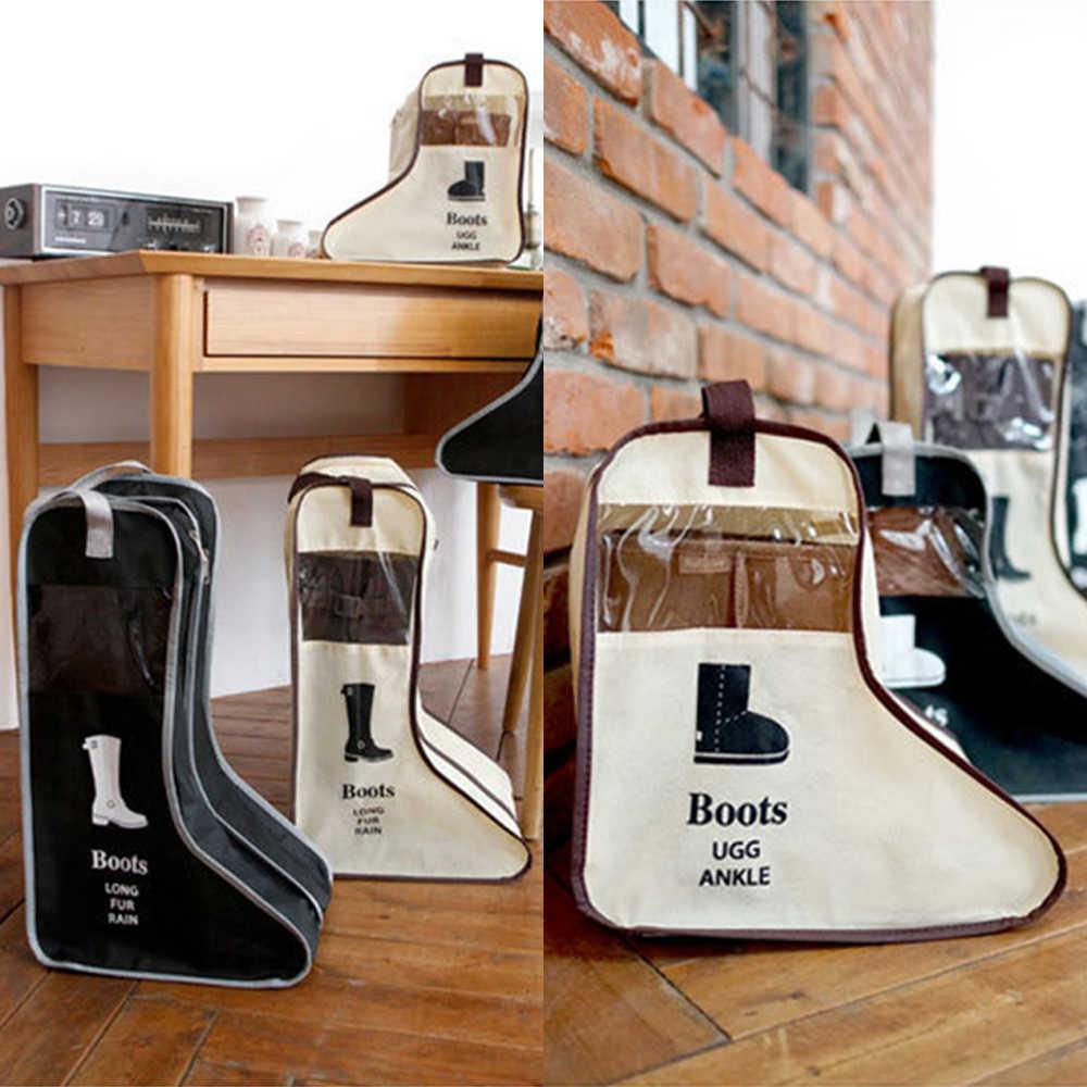 NOVA Moda Saco de Sapatos À Prova D' Água Bolsa Saco de Viagem Portátil Saco De Armazenamento Sapatos Organizador Armazenamento De Classificação Bolsa Zip Lock Para Casa