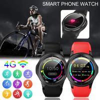 Большой экран Смарт часы большой памяти водостойкий gps позиционирующий WiFi взрослый спортивный телефон умный черный красный электронный на