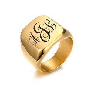 Personalized Signet Ring for M