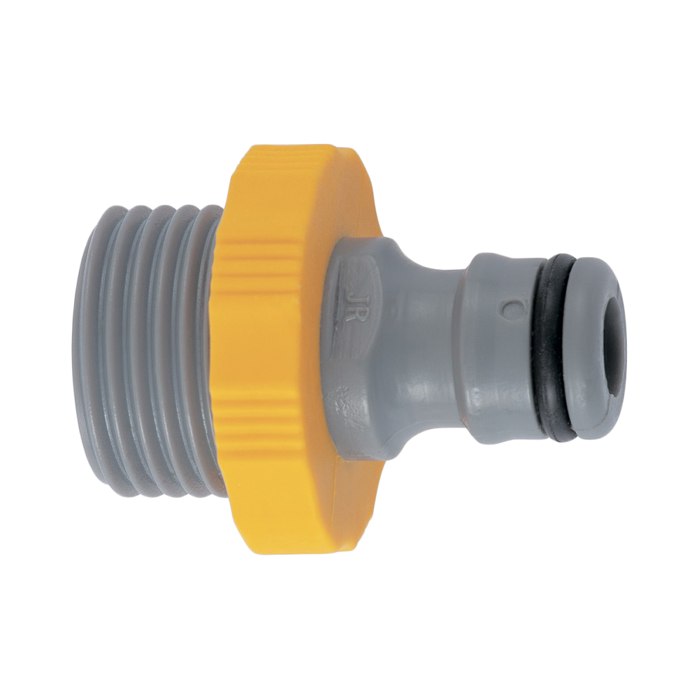 Garden Water Connectors PALISAD 65721 3/4 external thread, transition connection Plastic Adapter адаптер внешний palisad luxe 65721