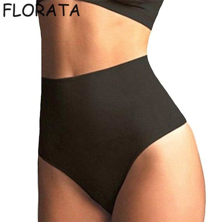 7227fb5553f8 New SEXY women Body Shaper Panty seamless booty Butt Lifter Panties high  waist G-string thong panties tummy Trimmer Underwear