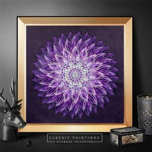 HUACAN Diamond Painting Flower Special Shaped Embroidery Sale Picture Of Rhinestones Mosaic Handmade Home Decor 40x40