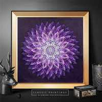 HUACAN Diamond Painting Flower Special Shaped Diamond Embroidery Sale Picture Of Rhinestones Mosaic Handmade Home Decor 40x40
