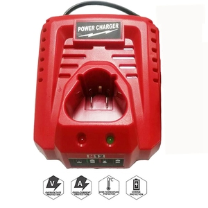 Image 3 - 3.0A 10.8V 12V Li Ion Vervanging Batterij Lader Voor M12 Milwaukee N12 48 59 2401 48  11 2402 Lithium Ion Batterij Eu Plug