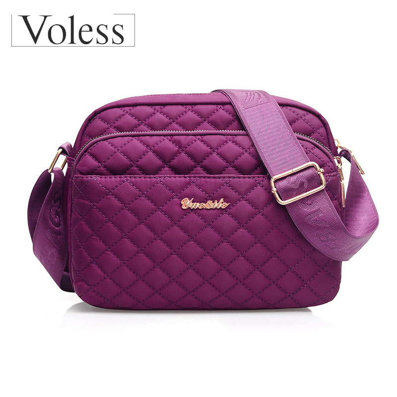 New Nylon Waterproof Bags For Women 2019 Crossbody Women Female Ladies Girls Shoulder Bags Quality Small Handbags Bolsa Feminina