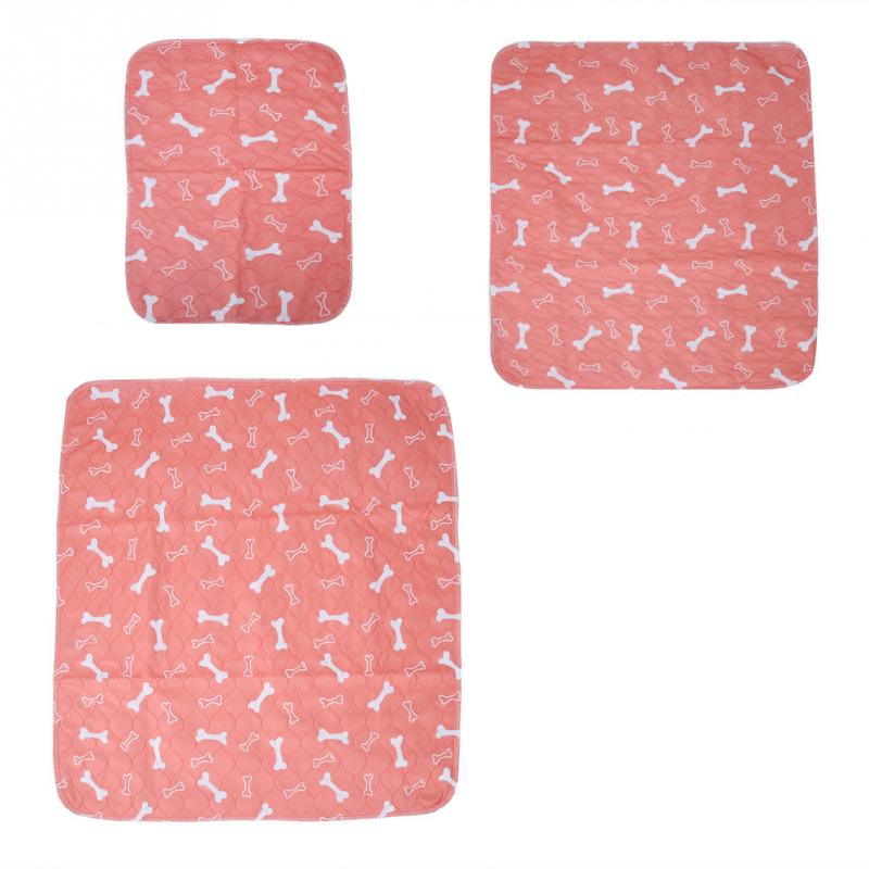 3 Sizes Reusable Waterproof Puppy Dog Cat Pee Bed Pad