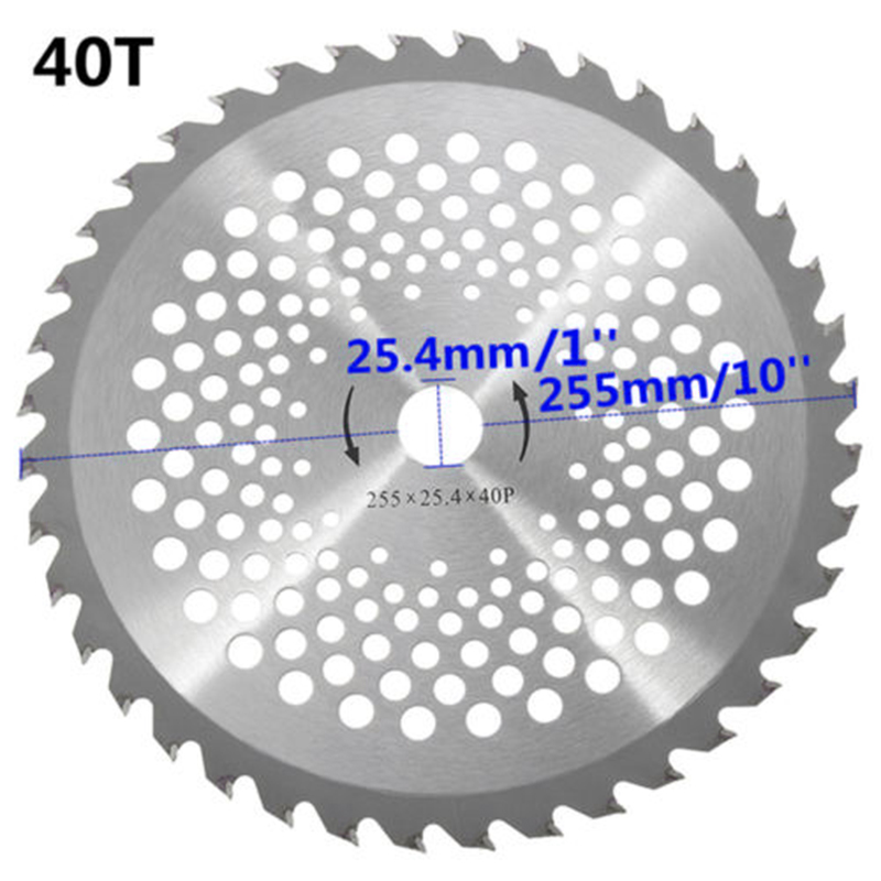 Portable Rotary Rotary Cutting Tool Circular Saw Blades Cutting Disc Mandrel 40 Teeth Blade Disc Cutter For Brush Cutter TrimmerPortable Rotary Rotary Cutting Tool Circular Saw Blades Cutting Disc Mandrel 40 Teeth Blade Disc Cutter For Brush Cutter Trimmer