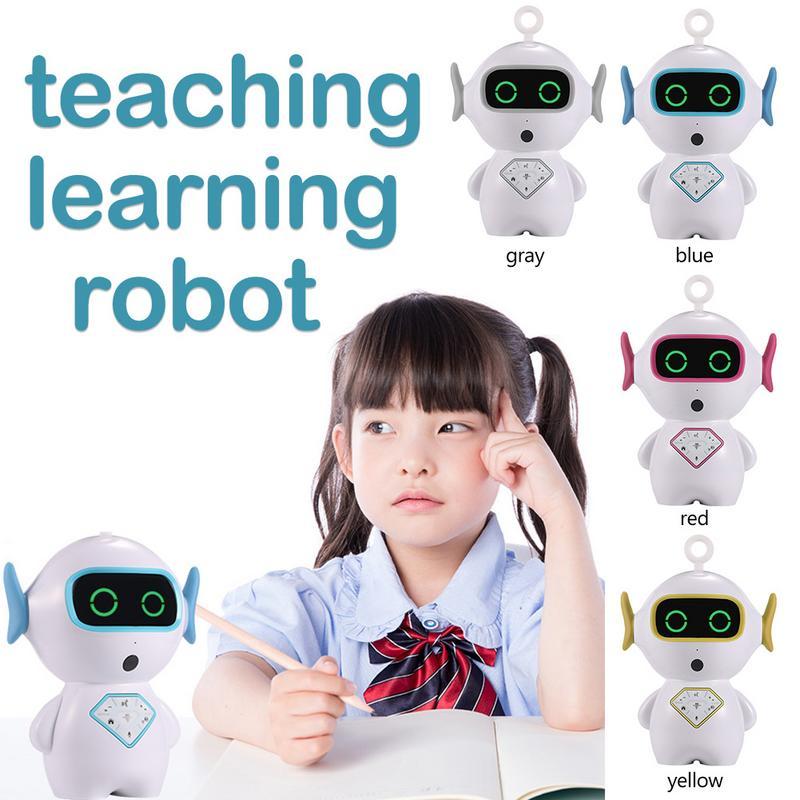 Apprentissage anglais Intelligent Robot interactif éducation préscolaire Robot voix interactif Wifi histoire Machine Robot
