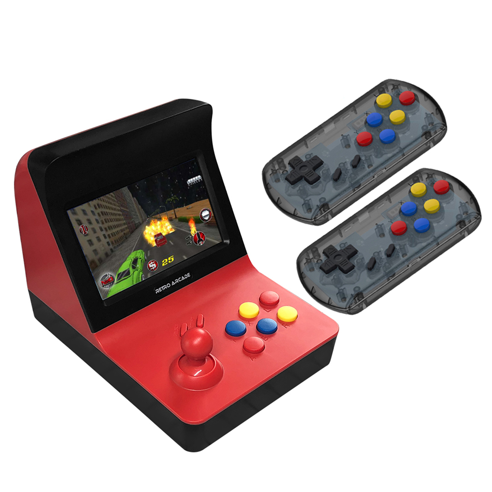 4.3 Screen Retro Arcade Game Console Portable Gaming Machine 3000 Classic Games Support TF Card Expansion christmas gift #x
