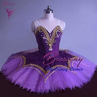 Adult purple Professional Ballet Tutu women Swan Lake Pancake Ballet Tutu Skirt girls Ballet dance Costume