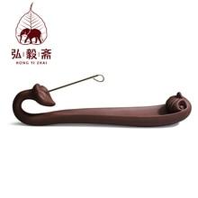 Hong Yizhai Yixing Yixing tea handmade antique ore Ruyi incense censer lying цена в Москве и Питере