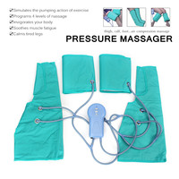 Air Compression Massage Leg Pressure Massager Therapy Healthcare Foot Ankle Wrap Simulates Pumping Action Soothes Muscle Fatigue