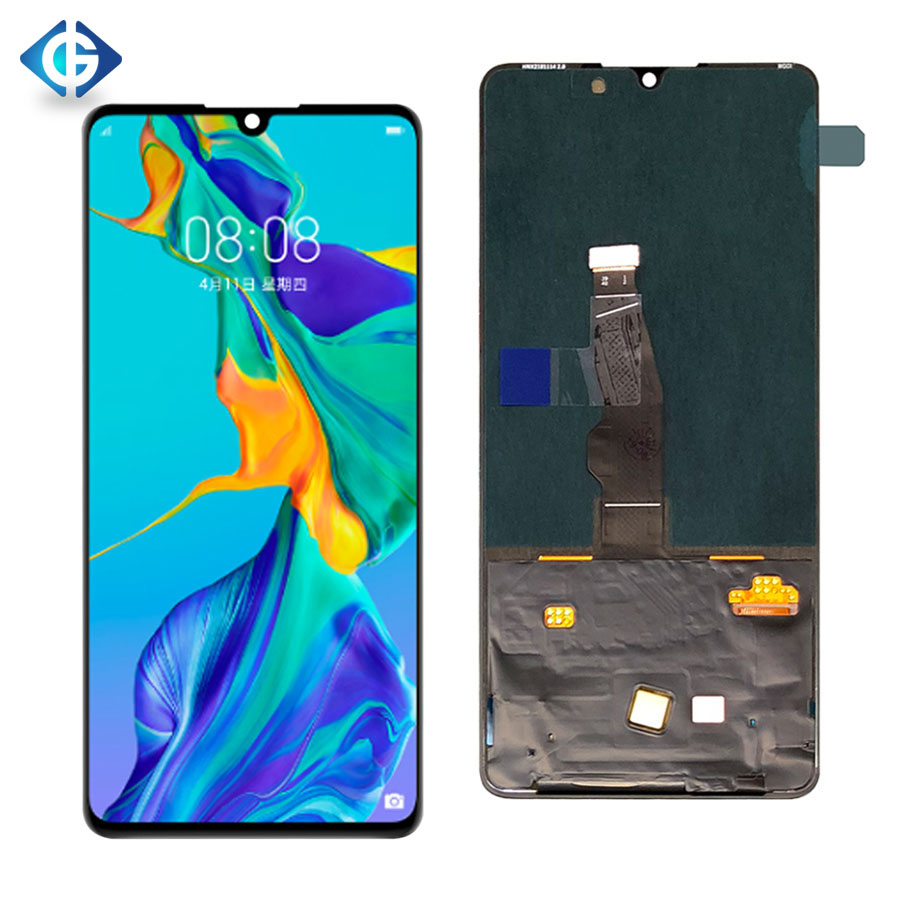 Lcd-Display Replacements-Assembly Huawei P30 Digitizer Lcd-Screen Touch ELE-L09 for 20pcs