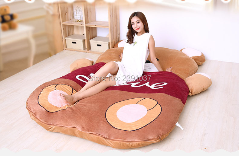 1.5x2m Cute bear Sleeping Bed Beanbag Mattress for Children Chinese Zodiac double Tatami  Sofa Warm Cartoon Tatami Sleeping-in Bean Bag Sofas from Furniture on Aliexpress.com | Alibaba Group