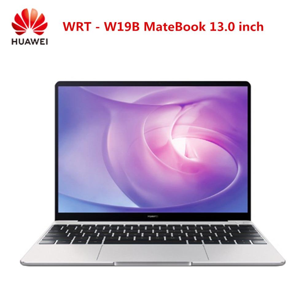 HUAWEI WRT W19B MateBook 13,0 дюймов Windows 10 Intel Core i5/i7 quad core 8 Гб ram 256/512 ГБ SSD датчик отпечатков пальцев ноутбук