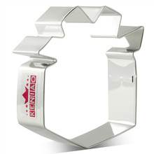 KENIAO Gift Box Cookie Cutter for Father's day - 8 x 7.9 cm - Biscuit / Fondant / Pastry / Bread Cutter - Stainless Steel