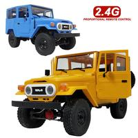 WPL New RC Car C34 Off Road Remote Control Car Toys RTR KIT Off road Remote Control Car Cool Yellow Blue For Cross climb RTR KIT