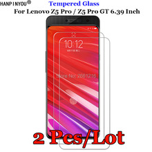 2 Pcs/Lot For Lenovo Z5pro Tempered Glass 9H 2.5D Premium Screen Protector Film For Lenovo Z5 Pro GT 6.39""