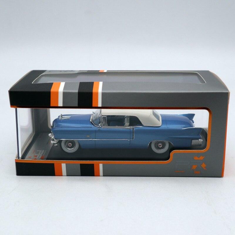 Premium X 1:43 Cadillac Eldorado Biarritz 1956 bleu/blanc PRD581 moulé sous pression modèles voiture série limitée Collection
