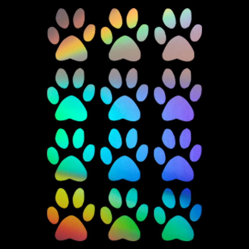 Funny Dog Paw Car Window Door Glass Laptop Room Wall Decor Vinyl Decal Sticker