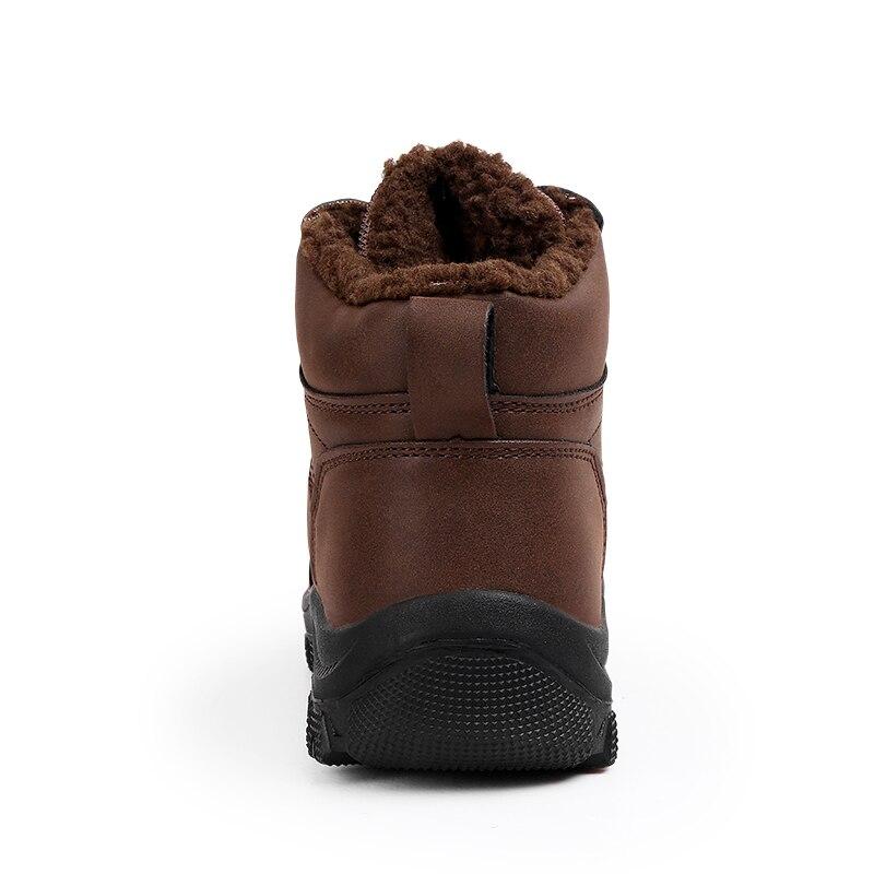 Botas brown Militar Super Caliente Hombres Hombre Piel gray Zapatos Black Cuero Invierno De Los Para Dx5 Genuino qzXwfzZA