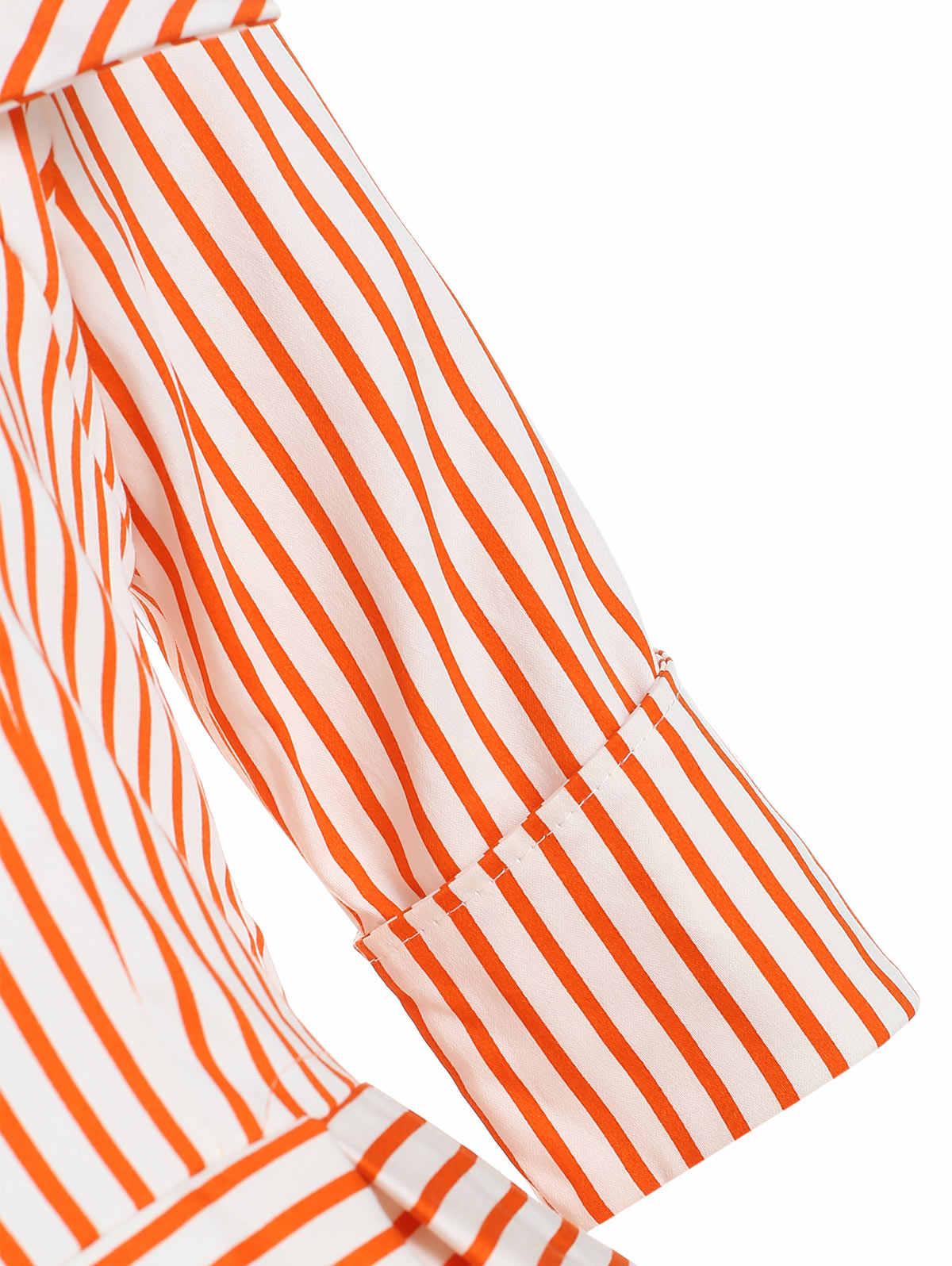 В полоску; с принтом «фрукты» Винтаж платье Для Женщин Половина рукава квадратный воротник элегантный качели вечерние платье Весна Повседневное; платья трапециевидной формы