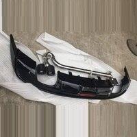 Модифицированное дополнение части протектор декоративные Automovil задний диффузор передняя губа тюнинг автомобильные бамперы для Chevrolet Malibu xl