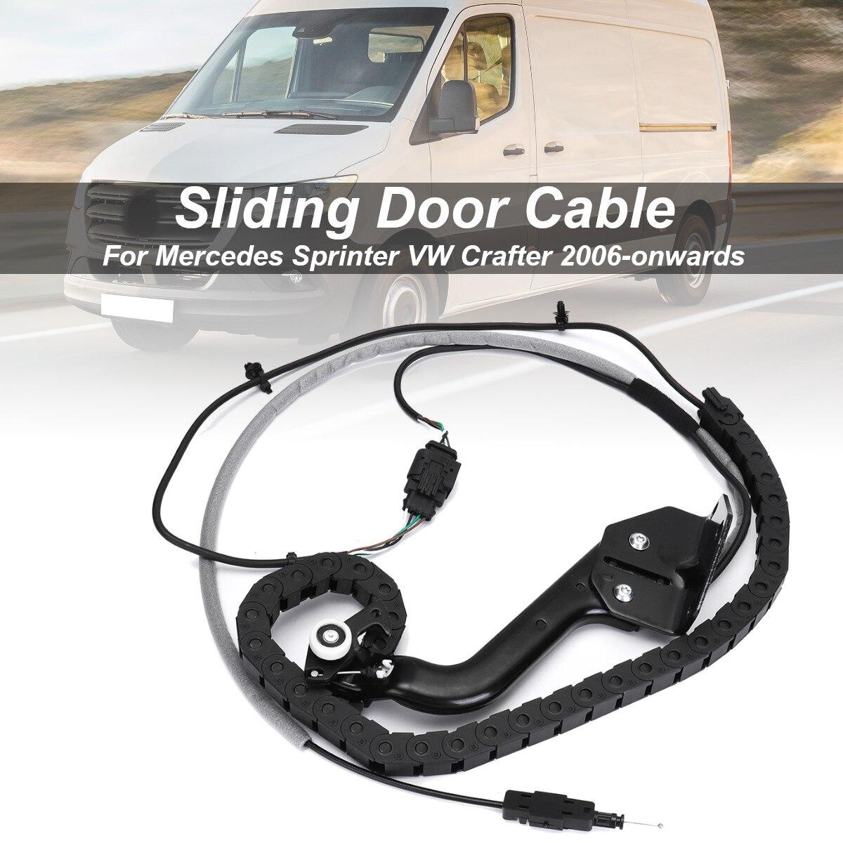 Porte coulissante câble inférieur rouleau piste gauche N/S pour Mercedes Sprinter pour VW pour Crafter 2006-à partir de