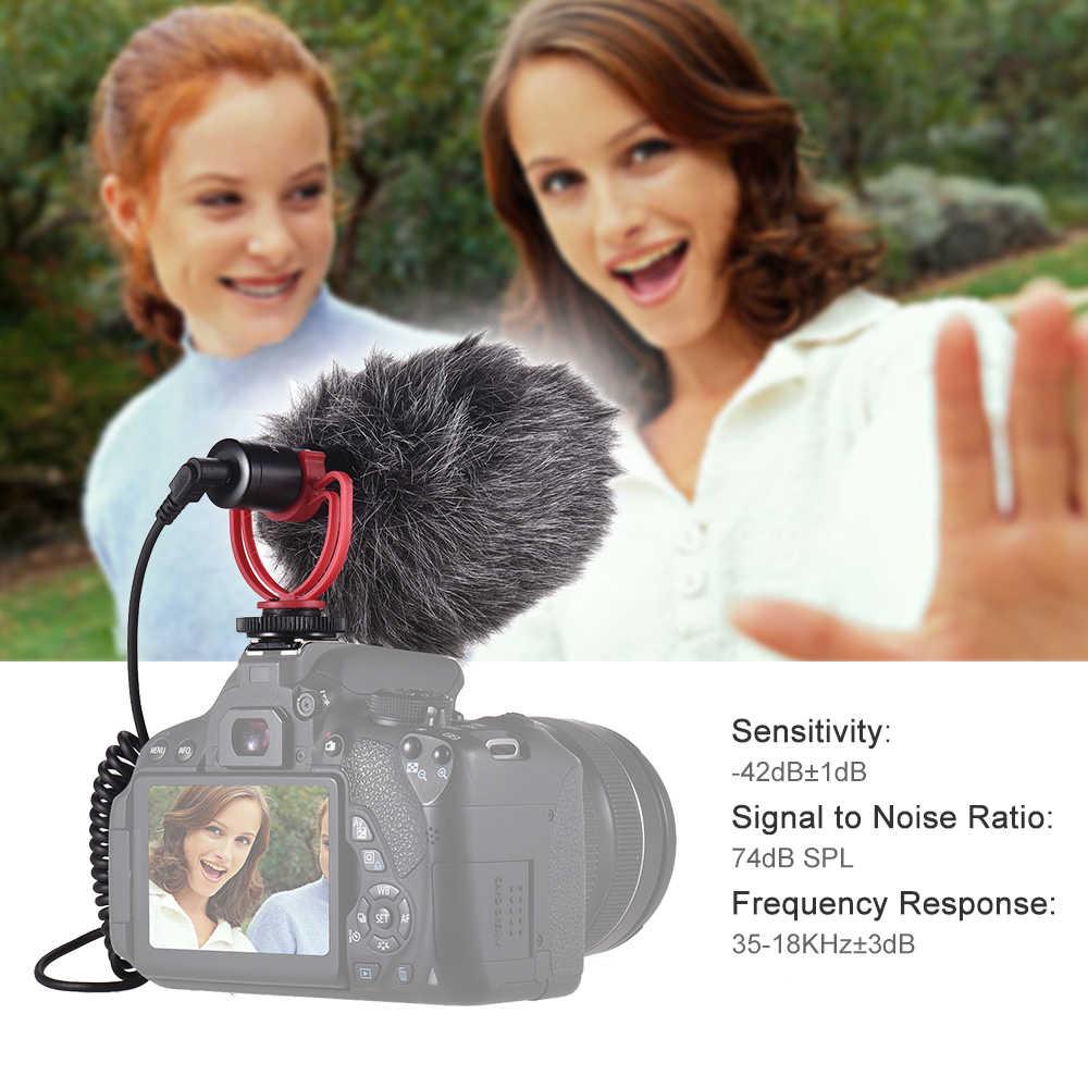 Andoer AD-M2 カメラコンデンサーラベリアマイクコンピュータ launchpad マイク 3.5 ミリメートルプラグのための iPhone 6/6 プラス mikrofon
