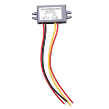 купить Car LED Display Power Supply 12V to 5V 3A DC/DC Buck Converter Module по цене 176.23 рублей
