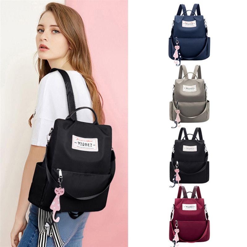 2019 New Oxford Waterproof Student Bag Travel Casual Backpack Leisure Mujer  Women Outdoor Bag Mochila Feminina School Bags
