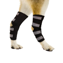 Dog Rear Leg Braces Pair Canine Hind Hock Joint Sleeves with Reflective Straps for Injury and Sprain Protection,Wound Healing realts trumpeter minihobby 80311 1 48 mi 24p hind f mi 24d hind d